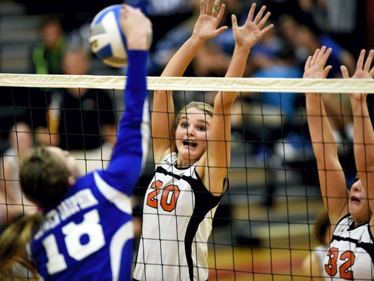 Palmyra's Molly Gundermann and the Cougars are off to a 3-0 start so far this season.