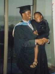 Danielle Sebata and her dad, Danny Sebata