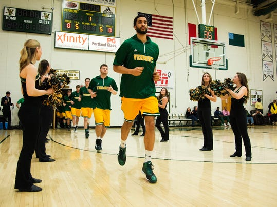 New Hampshire vs. Vermont Men's Baksetball 02/25/15