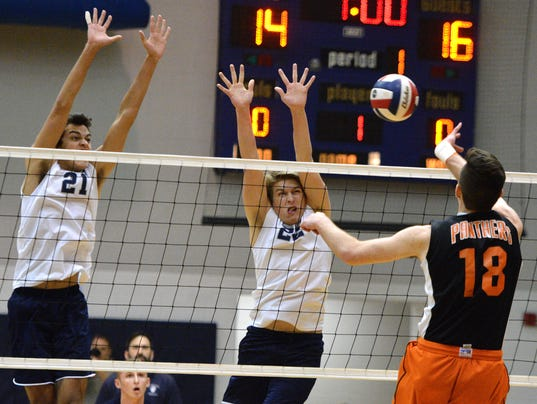 Central York vs Dallastown boys' volleyball