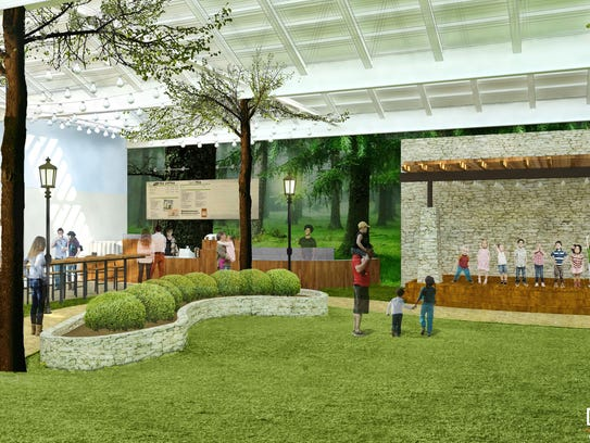 An indoor park proposed for Wauwatosa would feature