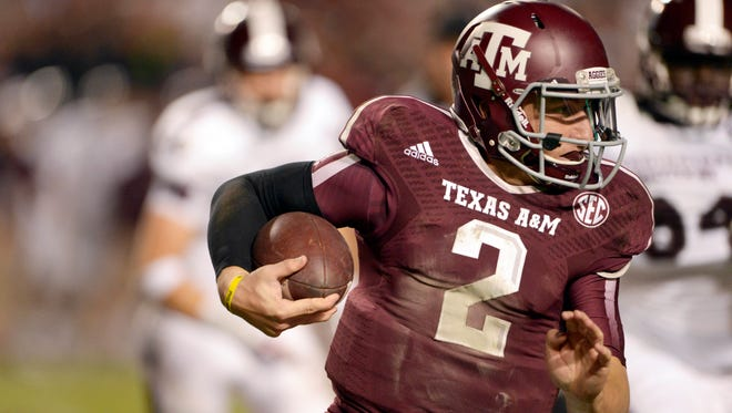 Is Texas A&M QB Johnny Manziel staying in Texas to start his NFL career?