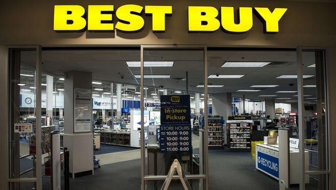 A Best Buy store in Arlington, Va.