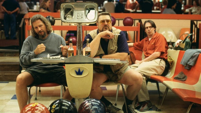 """Jeff Bridges, John Goodman and Steve Buscemi in the 1998 film """"The Big Lebowski,"""" which will be screened Aug. 5 and 8 in South Burlington."""