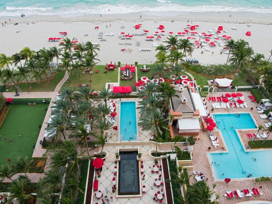 Option of first resort: beachfront business trip in Miami