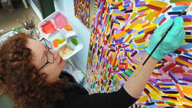 Ellen Soffer in her Shreveport studio.