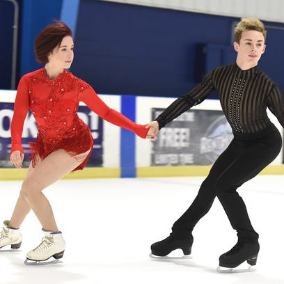 Practicing with poise and flair at Canton's Arctic