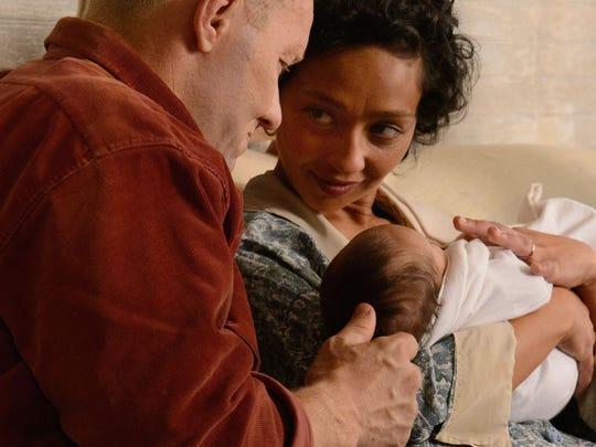 "Richard (Joel Edgerton) and Mildred (Ruth Negga) watch their family grow in ""Loving."""
