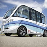 Driverless shuttle service to launch at University of Michigan