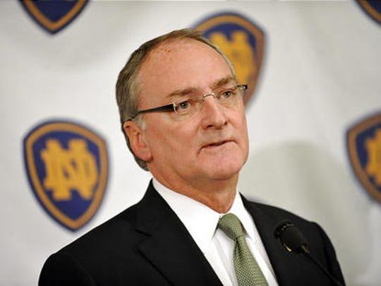 Notre Dame Athletic Director Jack Swarbrick.
