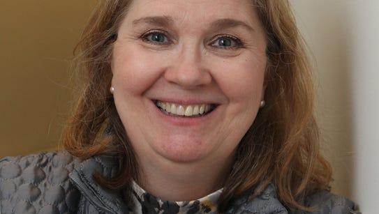 Susan Filgueras of Tomkins Cove attends a Sunshine