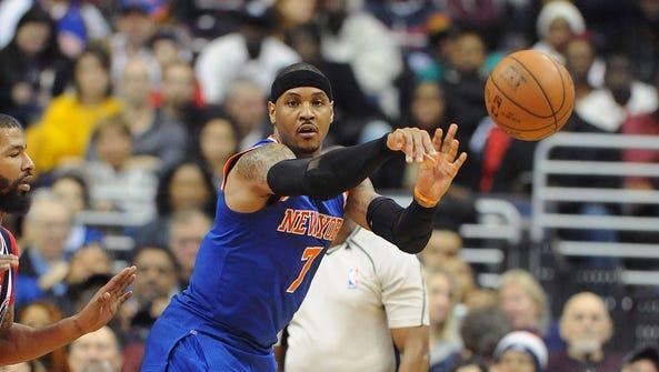 Mar 19, 2016; Washington, DC, USA; New York Knicks