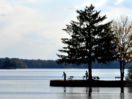 At Gifford Pinchot State Park Park, visitors were making