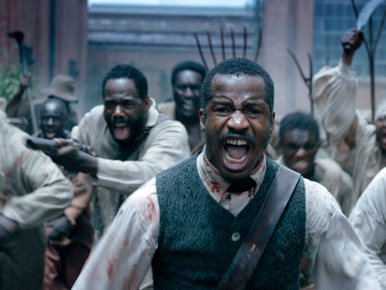 Nat Turner (Nate Parker, who also co-wrote and directed)