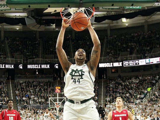 Mike Carter/USA TODAY Sports Michigan State forward