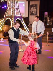 May I have this dance? Scenes from the 2014 Santiam Canyon Father Daughter Ball.