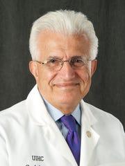 Dr. Siroos Shirazi, emeritus medical professor at the