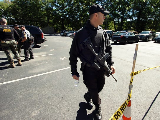 AP Police Barracks Shooting