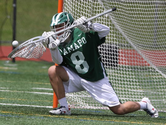 Ramapo senior Johnny Caponi is one of the top goalies in North Jersey this season.