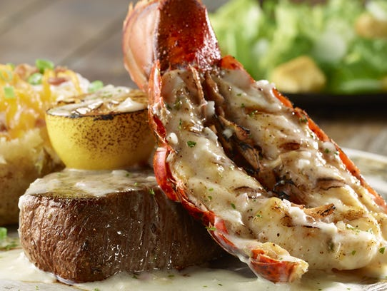 Flo filet citrus grilled lobster tail.