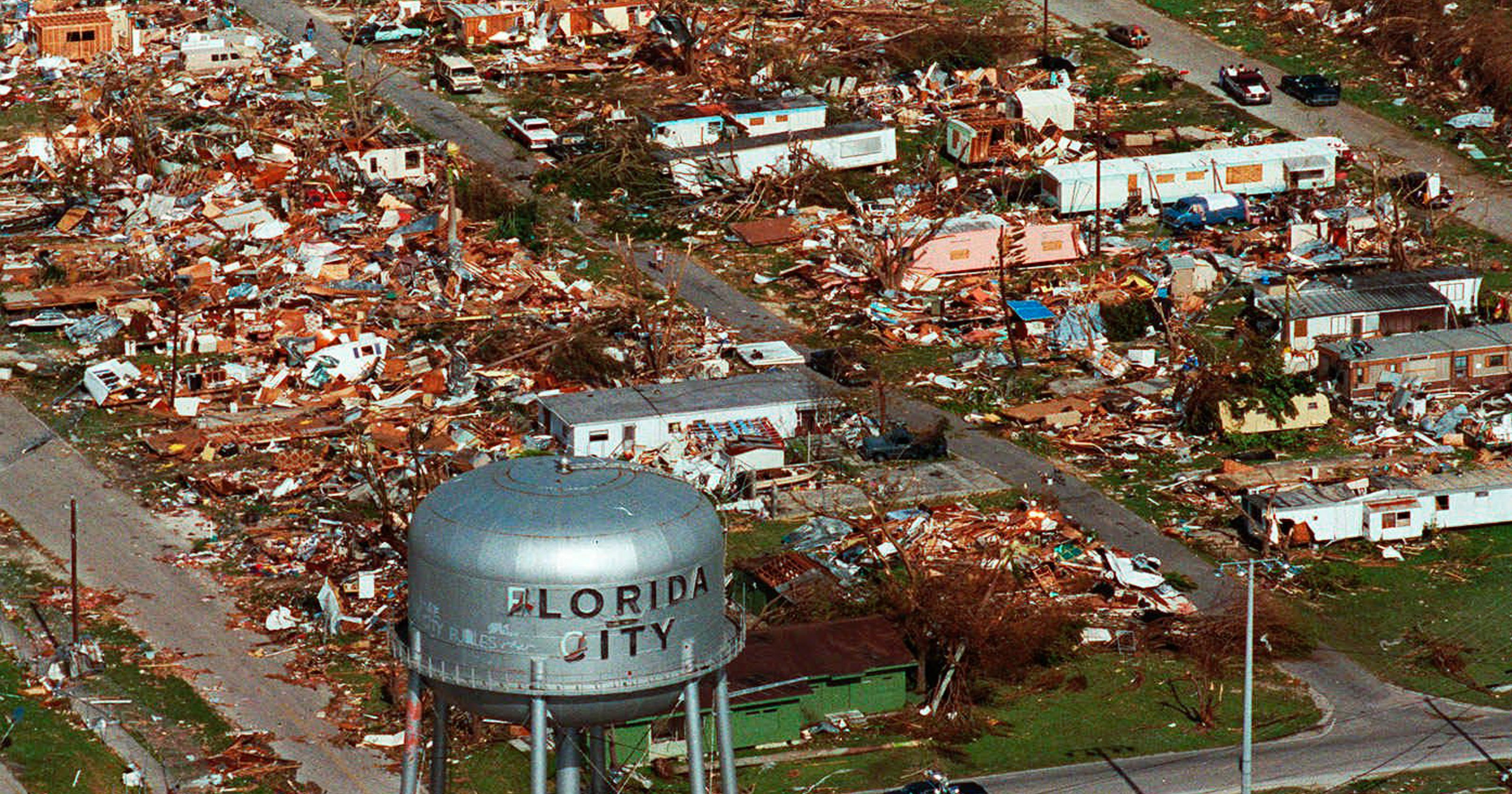 Hurricane Irma could test Florida's Hurricane Andrew