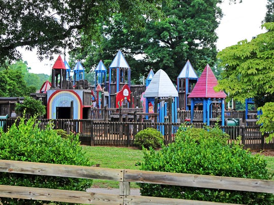 Century Park in Greer includes Kids Planet at Century