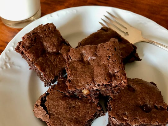 Double Chocolate Hazelnut Brownies take this dessert favorite to the next level using roasted hazelnuts and hazelnut oil.