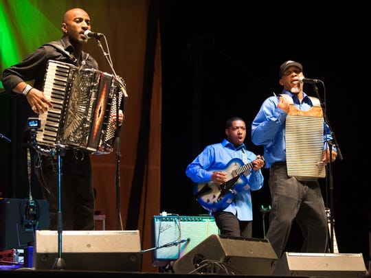 Curley Taylor at Zydeco Trouble entertain at noon June 10 during Creole Culture Day at Vermilionville.