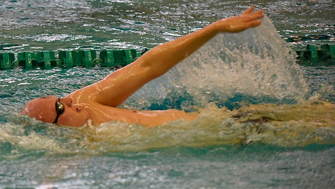 Senior Patrick Olmsted produced all-state swims in both the 200- and 500-yard freestyles, as well as the two freestyle relays.