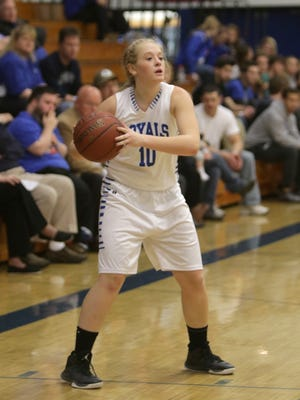 Assumption senior Macyn Krings is a three sports student-athlete for the Royals.