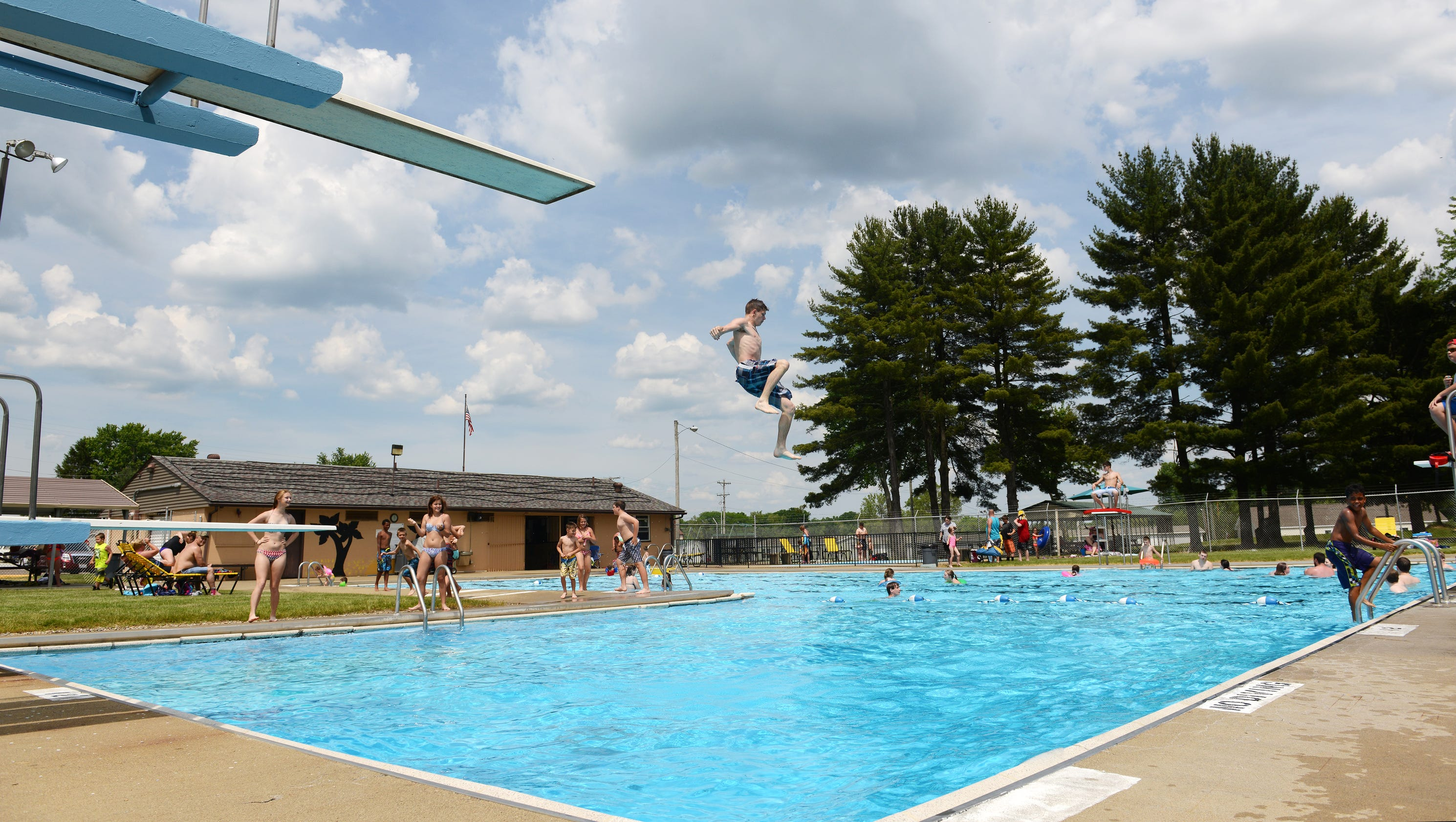 Swimming pools open for the season for Outdoor pools open