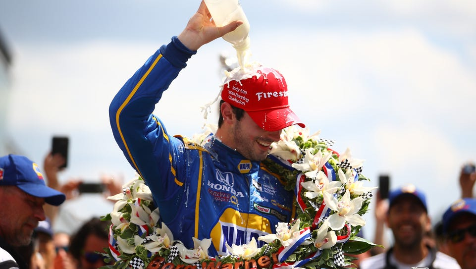 Alexander Rossi, driver of the #98 NAPA Auto Parts