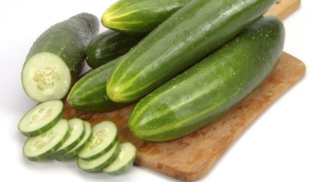 Cucumbers are the Certified Farmers' Market Fresh pick of the week.