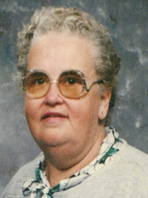 Mary Lou Saunders, 87