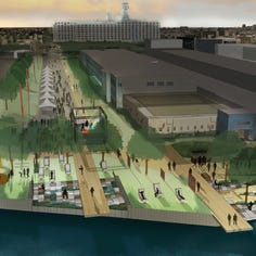 Construction of public plaza in Milwaukee's Harbor District to begin soon with city approval