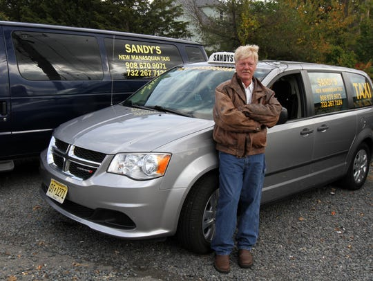 Gregory Hall, owner of Sandy's New Manasquan Taxi,