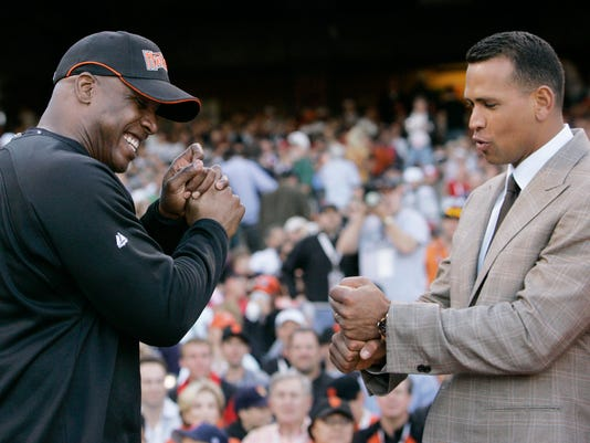 Alex Rodriguez, Barry Bonds