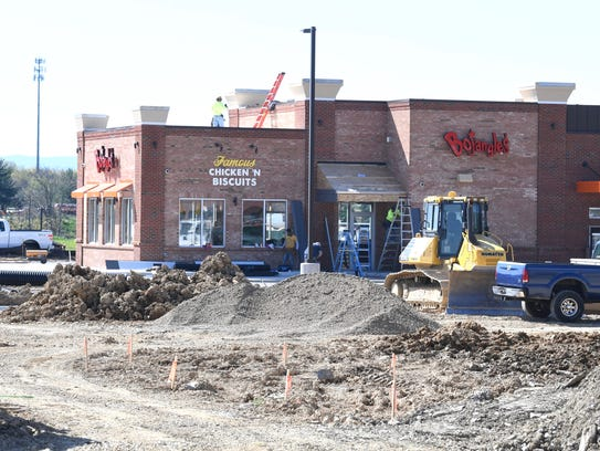 Bojangles' at Staunton Frontier Center is set to open