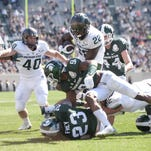 Michigan State football spring game an afternoon affair with lights on April 7