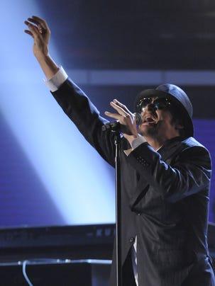 Kid Rock at the 2009 Grammy Awards.