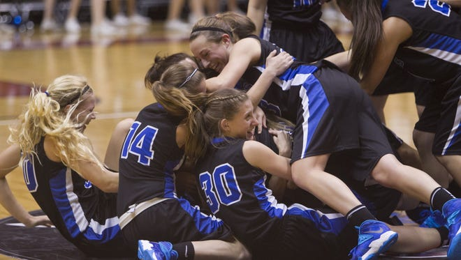 Fountain Hills' Amanda Baca is the small schools girls basketball coach of the year.