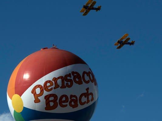 Pensacola Beach Air Show-Friday