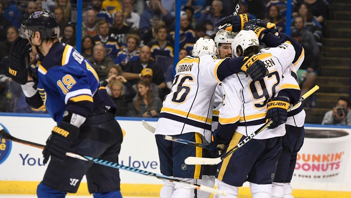 Rexrode: Different series, same winning touch for Predators