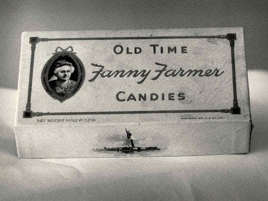 A Fanny Farmer box from about 1943 is seen in this file photo.