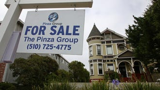 This Wednesday, June 20, 2018, photo shows a home for sale in Alameda, Calif. On Tuesday, June 26, the Standard & Poor's/Case-Shiller 20-city home price index for April is released. (AP Photo/Ben Margot) ORG XMIT: NYBZ253