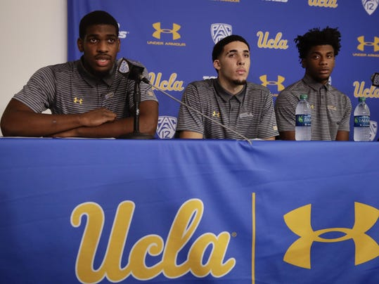 Cody Riley,LiAngelo Ball,Jalen Hill