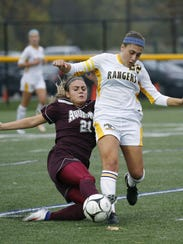 Spencerport junior Olivia Wall, right, is one of the