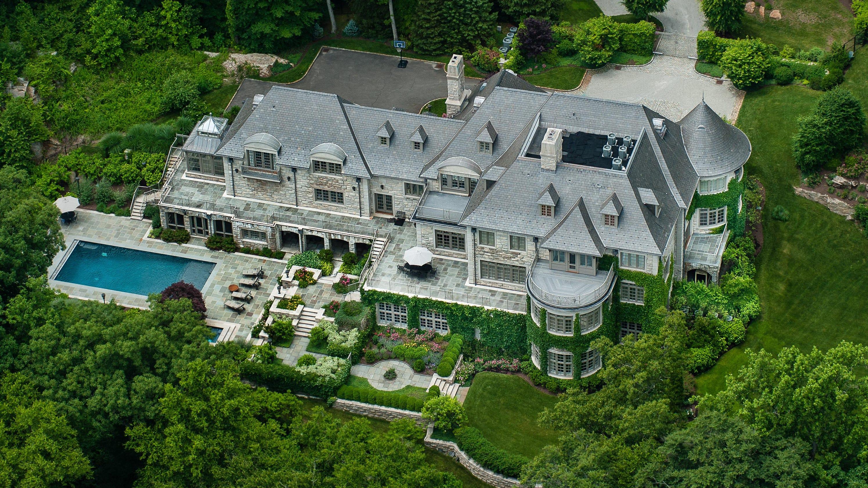 X Mansion Floor Plan Allan Houston S Armonk House For Sale