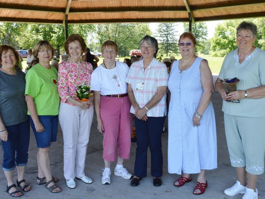The Neshanic Garden Club officers for 2018-2019 are
