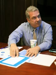 Yonkers Mayor Mike Spano in the Mayor's conference room at City Hall, April 5, 2018.